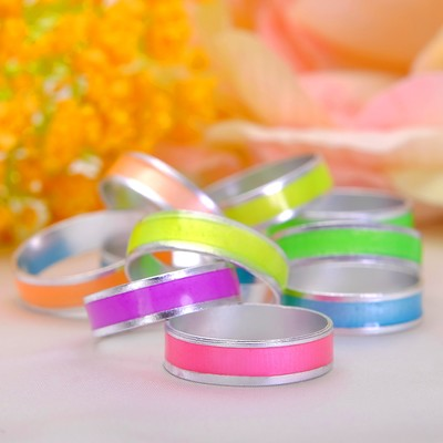 "Ring children's ""Vibracula"" track neon, color MIX, size MIX"
