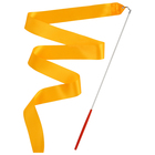 Gymnastic ribbon 2 m stick, color orange