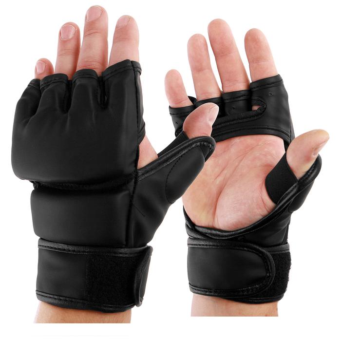 Перчатки тренировочные, размер М, цвет чёрный