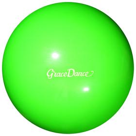 Мяч гимнастический 20 см, вес 420 г, цвет зеленый