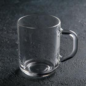 Кружка стеклянная 200 мл 'Зеленый чай' Ош