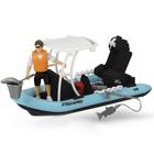 """Игрушка PlayLife """"Рыбацкая лодка"""", с фигуркой и аксессуарами"""