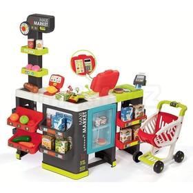 Супермаркет MAXI Market с тележкой, со световыми и звуковыми эффектами, 50 аксессуаров