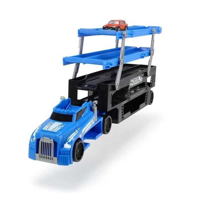 Игрушка «Автовоз», 5 уровней, грузовик и одна машинка, 44,5 см, МИКС