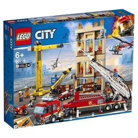 Конструктор «Пожарные: Центральная пожарная станция», 943 детали
