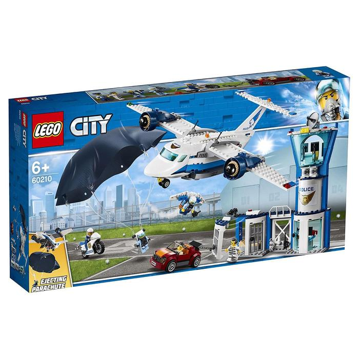 Конструктор Lego «Воздушная полиция: Авиабаза», 529 деталей