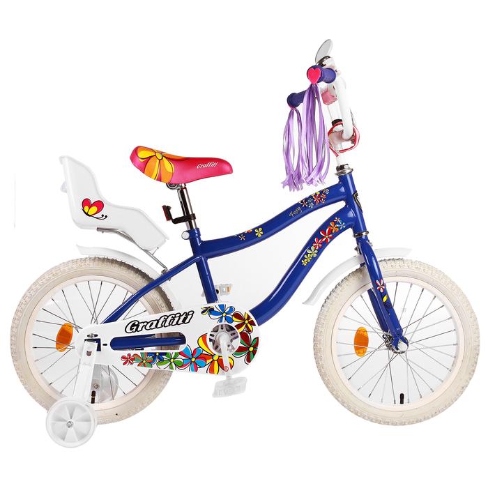 """Велосипед 16"""" Graffiti Foxy, цвет фиолетовый"""