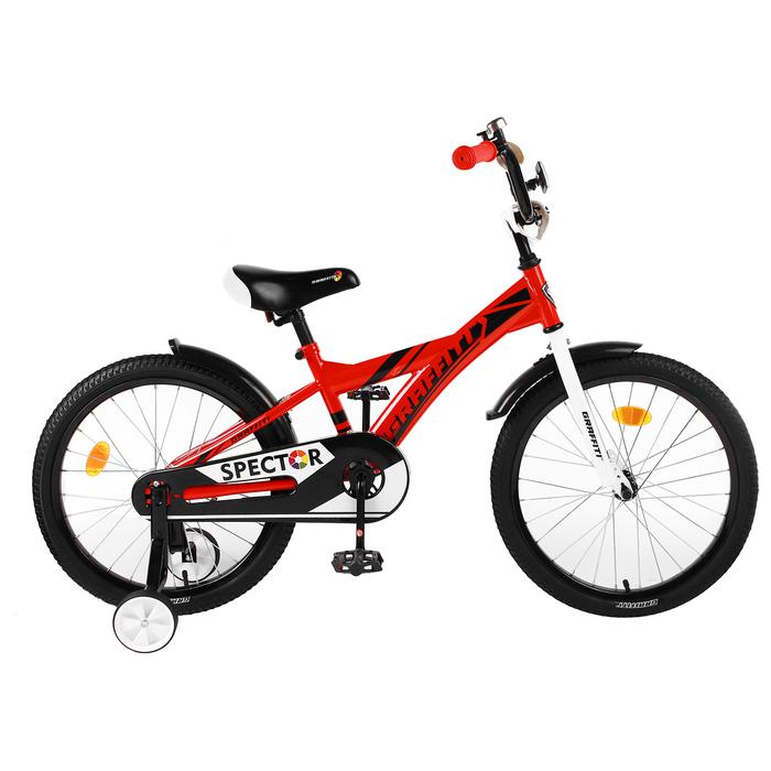 """Велосипед 20"""" Graffiti Spector, цвет красный"""
