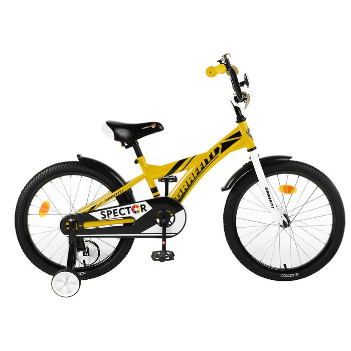 "Велосипед 20"" Graffiti Spector, цвет жёлтый/чёрный"