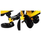 """Велосипед трёхколёсный Micio Classic Air, надувные колёса 10""""/8"""", цвет жёлтый - фото 105546790"""