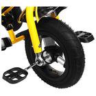 """Велосипед трёхколёсный Micio Classic Air, надувные колёса 10""""/8"""", цвет жёлтый - фото 105546792"""