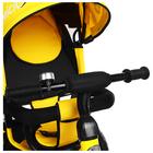 """Велосипед трёхколёсный Micio Classic Air, надувные колёса 10""""/8"""", цвет жёлтый - фото 105546793"""