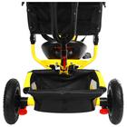 """Велосипед трёхколёсный Micio Classic Air, надувные колёса 10""""/8"""", цвет жёлтый - фото 105546794"""