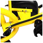 """Велосипед трёхколёсный Micio Classic Air, надувные колёса 10""""/8"""", цвет жёлтый - фото 105546796"""