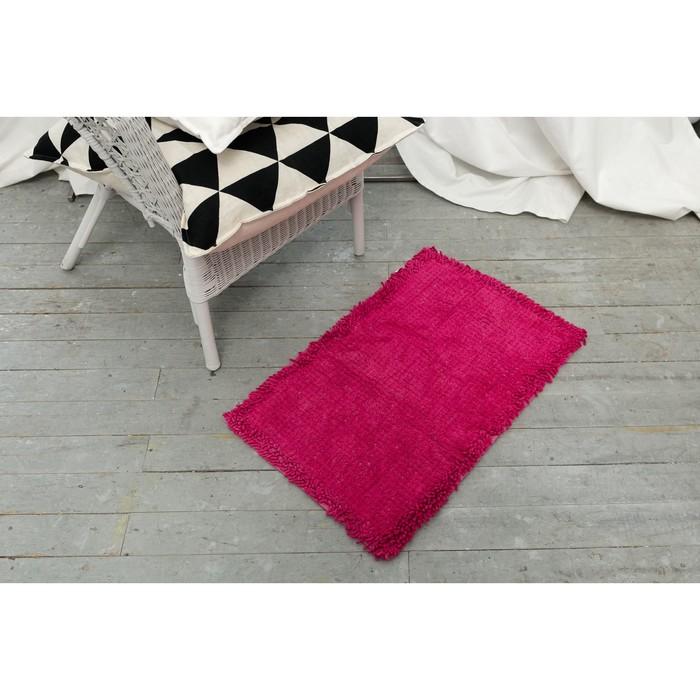Ковер «ЛАСИ», 50х80 ± 3 см, цвет розовый.
