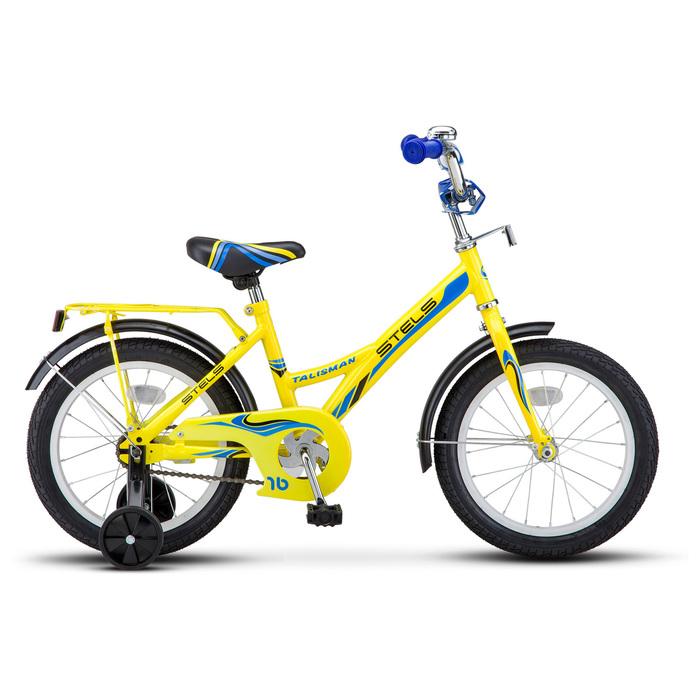 "Велосипед 16"" Stels Talisman, Z010, цвет жёлтый"