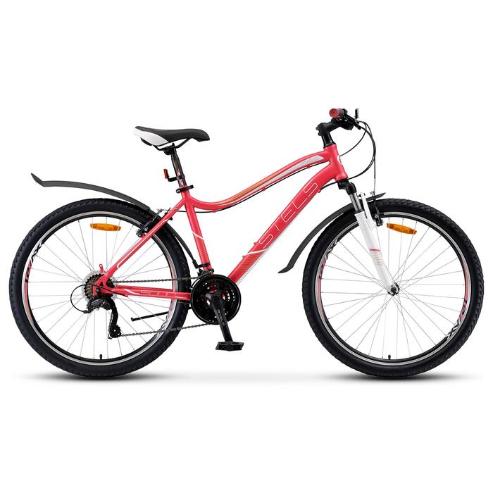 """Велосипед 26"""" Stels Miss-5000 V, V040, цвет розовый, размер 17"""""""