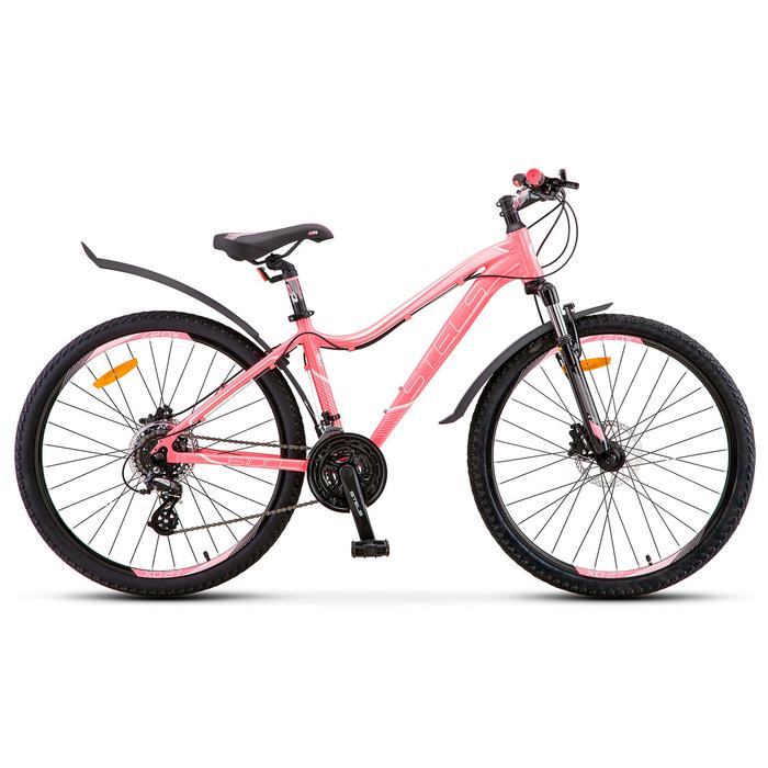 "Велосипед 26"" Stels Miss-6100 D, V010, цвет светло-красный, размер 15"""