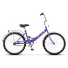 """Велосипед 24"""" Stels Pilot-710, Z010, цвет фиолетовый, размер 16"""""""