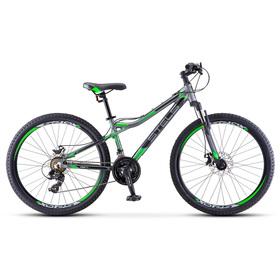 "Велосипед 26"" Stels Navigator-610 MD, V040, цвет серый/зелёный, размер 14"""