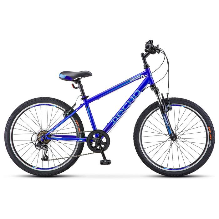"Велосипед 24"" Десна Метеор, V010, цвет синий, размер 14"""