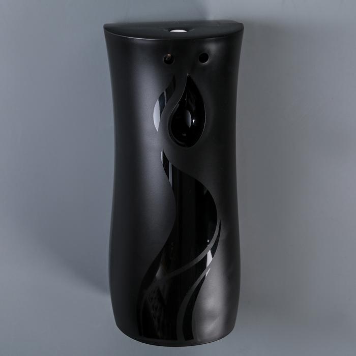 Диспенсер для освежителя воздуха 8,7х7х19 см. цвет черный