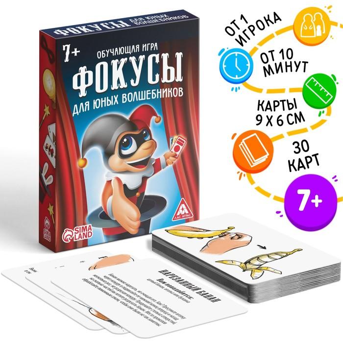 Обучающая игра «Фокусы для юных волшебников»