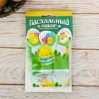 Пасхальный Набор для украшения яиц «Радостный день», 9 х 16 см