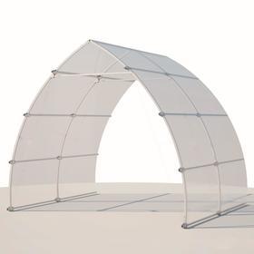 Удлинитель теплицы «Стелла Лайт», 2 × 3 × 2,1 м, оцинкованная сталь, без поликарбоната