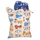 Непромокаемая сумка GlorYes!, цвет коты на бежевом