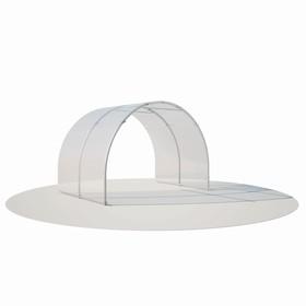 Удлинитель теплицы «Злата», 2 × 3 × 2,1 м, оцинкованная сталь, без поликарбоната