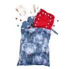 Непромокаемая сумка GlorYes!, цвет джинс