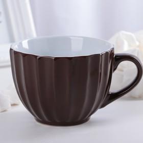 "Circle 430 ml ""Noemi"", color brown"