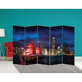 "Ширма ""Корабли. Декор 25"" 250 × 160 см"