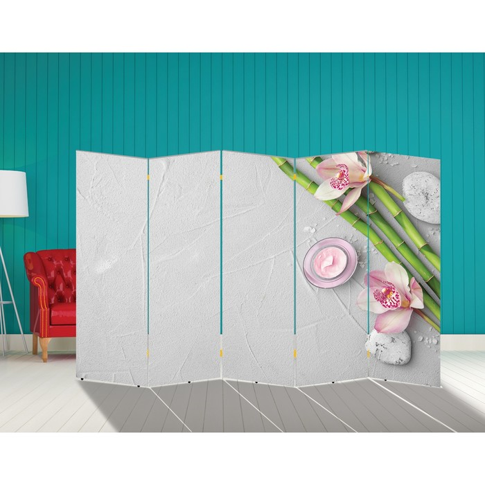 """Ширма """"Бамбук. Декор 14"""" 250 × 160 см"""