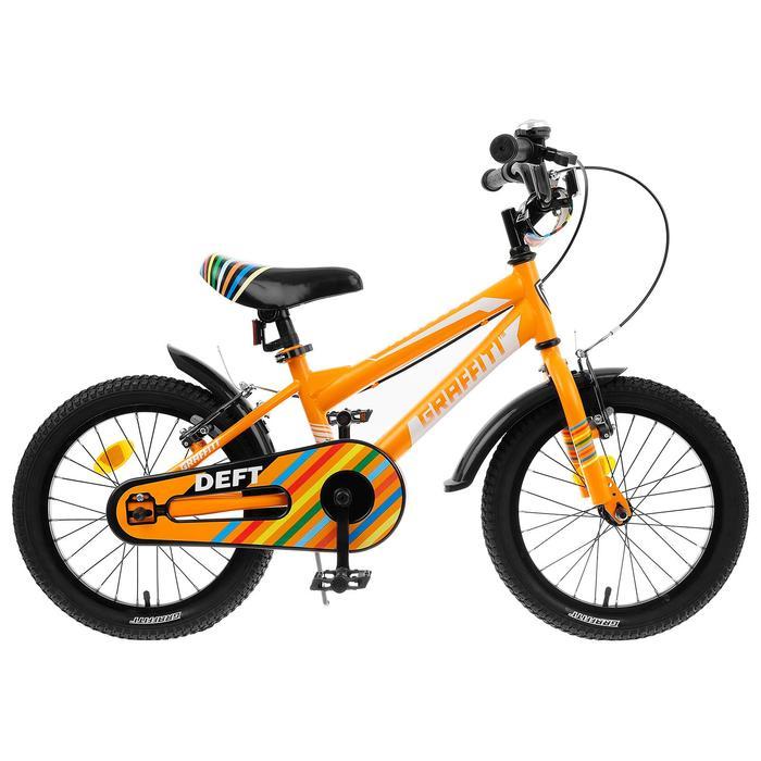 """Велосипед 18"""" Graffiti Deft, цвет оранжевый"""