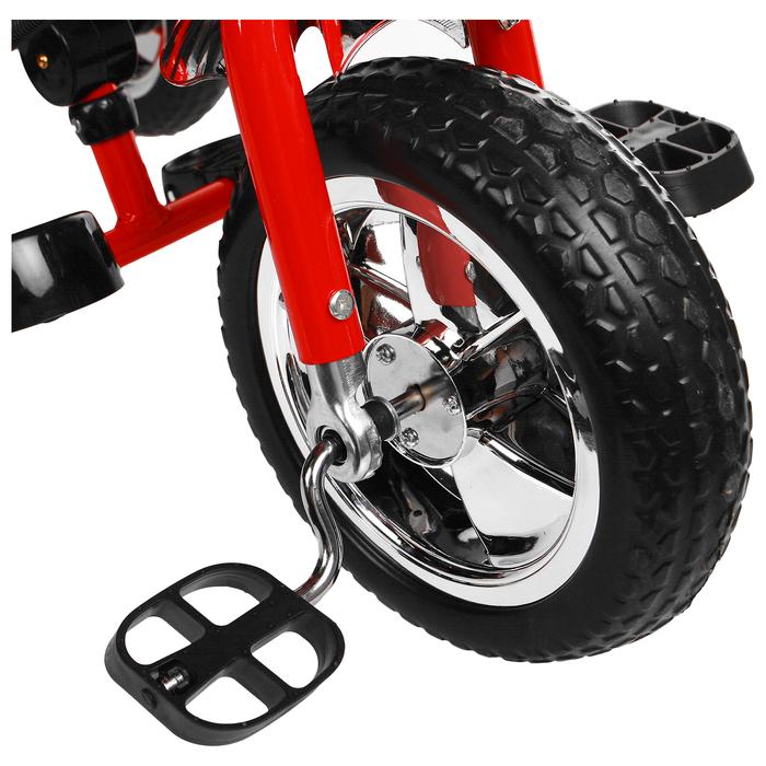 """Велосипед трёхколёсный Micio Classic 2019, колёса EVA 10""""/8"""", цвет красный - фото 537882639"""