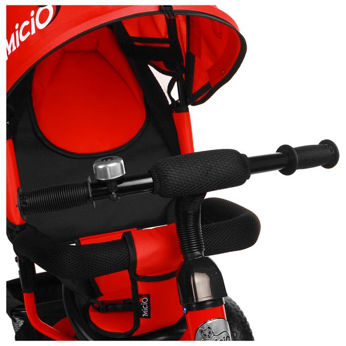 """Велосипед трёхколёсный Micio Classic 2019, колёса EVA 10""""/8"""", цвет красный - фото 537882640"""