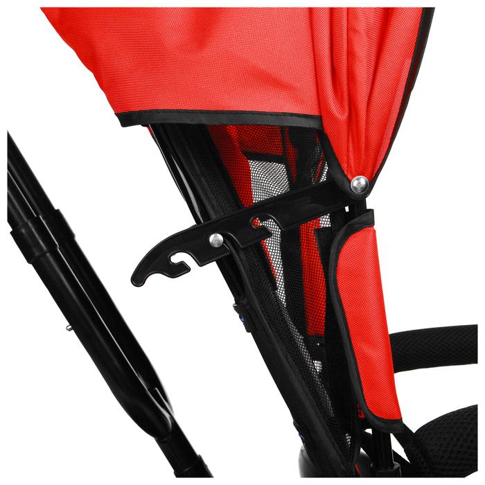 """Велосипед трёхколёсный Micio Classic 2019, колёса EVA 10""""/8"""", цвет красный - фото 537882642"""