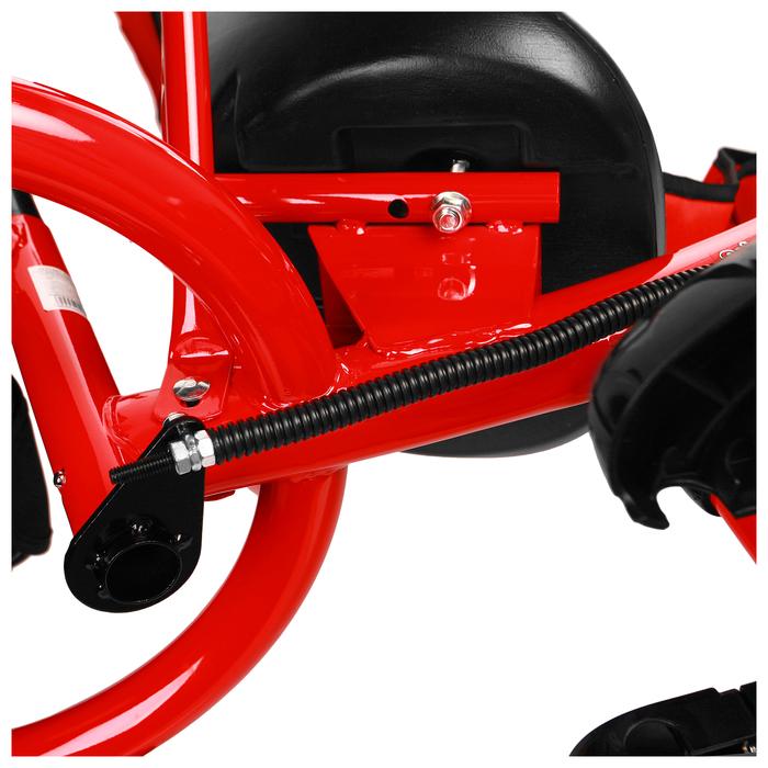 """Велосипед трёхколёсный Micio Classic 2019, колёса EVA 10""""/8"""", цвет красный - фото 537882643"""