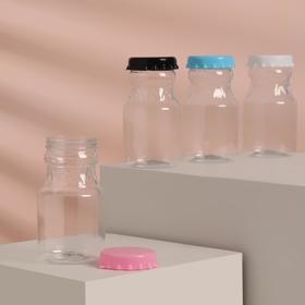 Бутылочка для хранения «Газировка», 90 мл, цвет МИКС