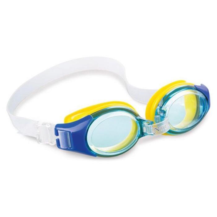 Очки для плавания JUNIOR, от 3-8 лет, цвета МИКС, 55601 INTEX