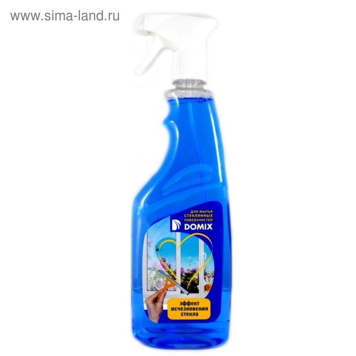 Средство для мытья стекол Domix, эффект исчезновения стекла, 700 мл