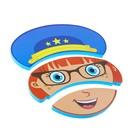 Игрушка - пазл для купания «Изучаем профессии» - фото 105536340