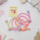 Scrunchy Magic, 3 cm, hearts, (price for 1 PCs.), mix