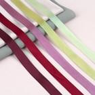 Набор атласных лент «Осенний», 5 шт, размер 1 ленты: 20 мм × 23 ± 1 м - фото 392625