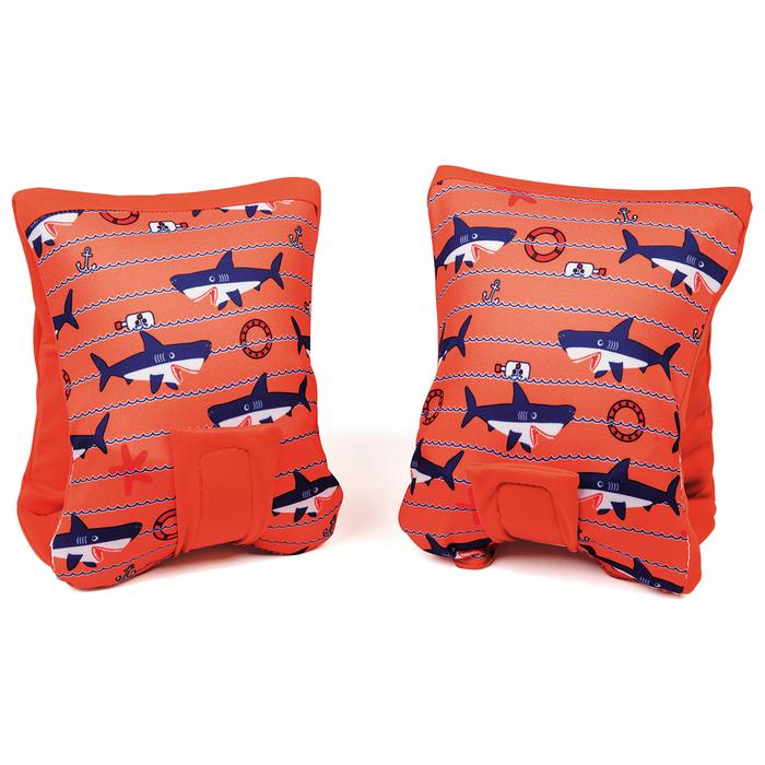 Нарукавники для плавания «Рыбки», 38 х 14 см, от 11-18 кг, от 1-3 лет, МИКС, 32182 Bestway