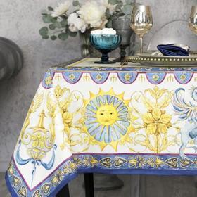 Набор столовый Этель «Ренессанс», скатерть 110х145 +/- 3см, салфетки 40х40 см-4шт, 100% хл