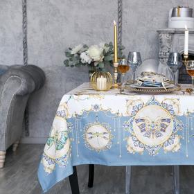 """Набор столовый """"Этель"""" Драгоценности, скатерть 180х150 см, салф. 40х40 см-8шт, 100% хл"""