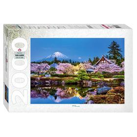 Пазл «Япония весной. Сидзуока», 2000 элементов